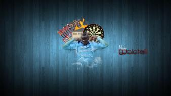 Manchester city mario balotelli football players soccer sports wallpaper
