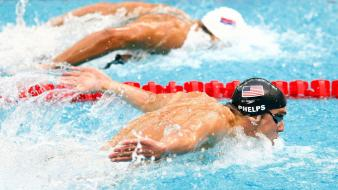 Michael phelps olympiad olympics sports swimmer wallpaper