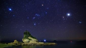 Night sky stars wallpaper