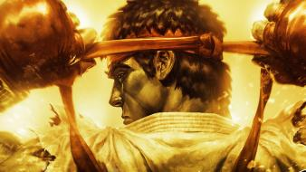 Ryu street fighter iv ultra video games wallpaper