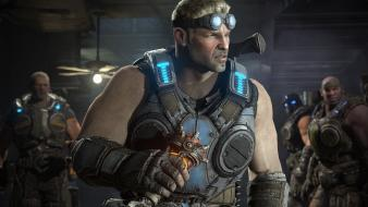 Soldiers video games gears of war war: judgment wallpaper
