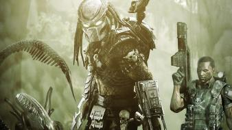 Video games aliens vs predator game wallpaper
