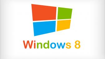 Windows 8 simple logo wallpaper