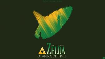 Zelda: ocarina time green background shigeru miyamoto wallpaper