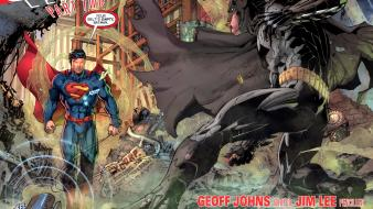 Batman superman comics superheroes wallpaper