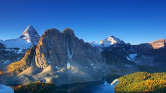 Canada mount assiniboine national geographic lakes mountains wallpaper