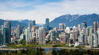 Canada vancouver architecture buildings cityscapes wallpaper