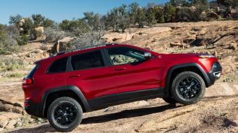 Cherokee jeep cars rocks wallpaper