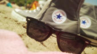 Converse ray ban sun beaches glasses wallpaper