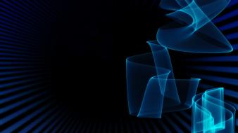 Dark blue abstract Wallpaper