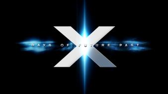 Days of future past black background glowing wallpaper