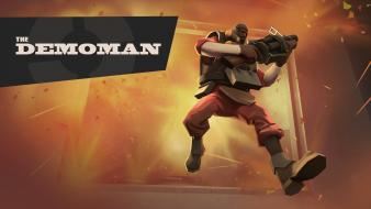Demoman tf2 team fortress 2 valve corporation Wallpaper