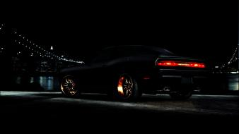 Dodge challenger srt8 black wallpaper