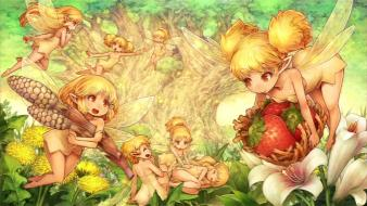 Dragons crown heroic age angels artwork fantasy art wallpaper
