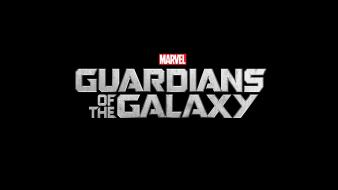 Galaxy marvel comics black background logos movies wallpaper