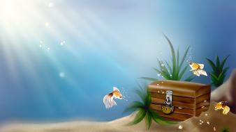Goldfish animated wallpaper