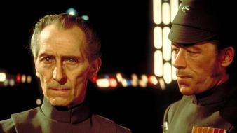 Grand moff tarkin on set wars futuristic wallpaper