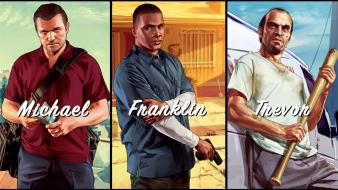 Grand theft auto v video games wallpaper