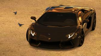 Gt5 lamborghini aventador cars engines pigeons wallpaper