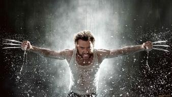 Hugh jackman the wolverine claws men movies wallpaper