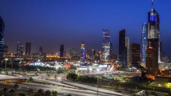 Kuwait cityscapes wallpaper