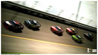 Nascar cars racing sports vehicles Wallpaper