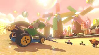 Nintendo wii u mario kart 8 video games Wallpaper