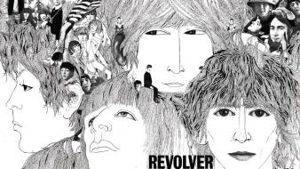 Revolver rock music the beatles cover art wallpaper