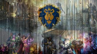 The alliance varian wrynn world of warcraft wallpaper