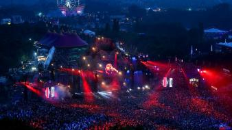 Tomorrowland 2013 concert music night Wallpaper