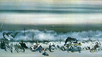 Yves tanguy artwork paintings surrealism Wallpaper