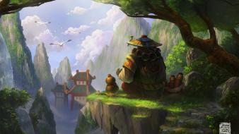6kart pandaria world of warcraft warcraft: mists pandaren Wallpaper