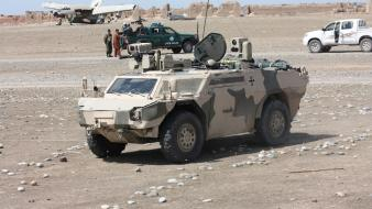 Afghan national police armoured personnel carrier fennek Wallpaper