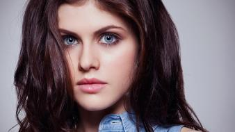 Alexandra daddario eyes wallpaper