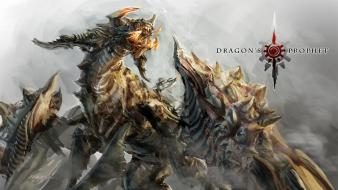 Artwork dragons video games wallpaper