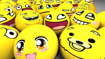 Balls derp meme smiling wallpaper
