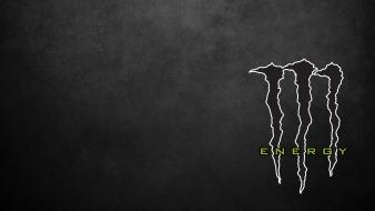 Black monster energy logo wallpaper