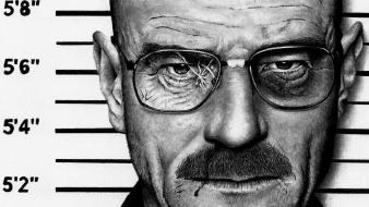 Breaking bad bryan cranston artwork faces illustrations wallpaper