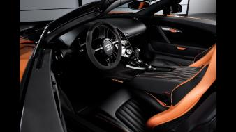 Bugatti veyron grand sport vitesse interior record wallpaper