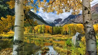 California nevada sierra nevadas autumn wallpaper