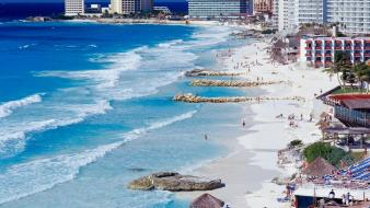 Cancun beach pictures wallpaper