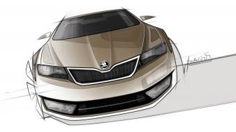 Cars concept design drawings sketches Wallpaper