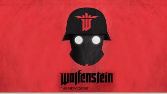 Castle wolfenstein helmet new order video games Wallpaper