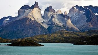 Chile national park patagonia torres del paine Wallpaper