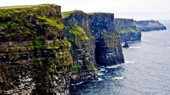 Cliffs of moher galway ireland coast wallpaper