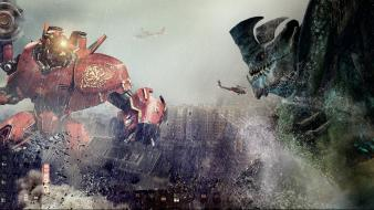 Crimson typhoon hong kong leatherback pacific rim rain Wallpaper