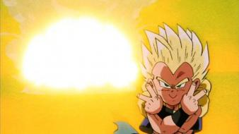 Dragon ball z gotenks peace wallpaper