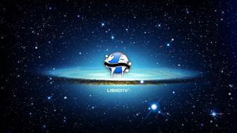 Drum and bass liquicity outer space wallpaper