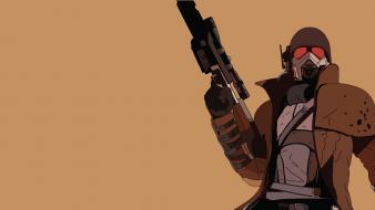 Fallout: new vegas ncr veteran ranger video games wallpaper