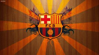 Fc barcelona football logos teams soccer wallpaper